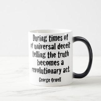 Truth Matters, Resist Trump Magic Mug