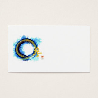 Truth on the Edge of Center, Enso Business Card