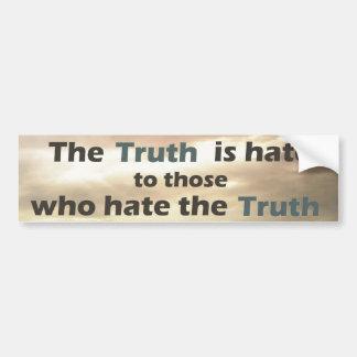 Truth Sticker Car Bumper Sticker