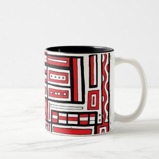 Truthful Generous Happy Active Two-Tone Mug