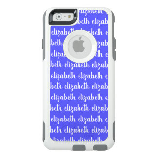 Truthfully Inspiring Blue Color White Name Text OtterBox iPhone 6/6s Case
