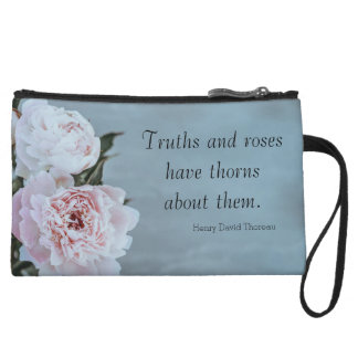 Truths and Roses Clutch