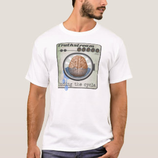 Truthstream Media Brainwashing Logo T-Shirt