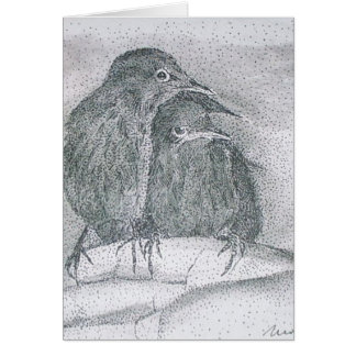 truvey's starlings card