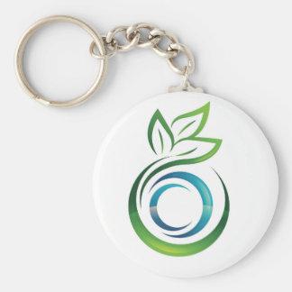 TruVision Health Key Chain Basic Round Button Keychain