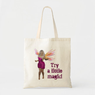 TRY A LITTLE MAGIC TOTE BAG