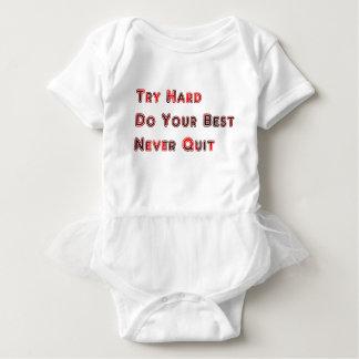 Try hard baby bodysuit
