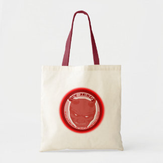 Try Jesus. If you don't like Him the devil will... Canvas Bags