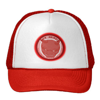 Try Jesus. If you don't like Him the devil will... Trucker Hats