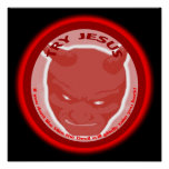 Try Jesus. If you don't like Him the Devil will.. Poster