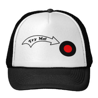 Try Me Button Cap