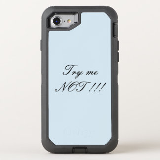 Try me not phone accessories OtterBox defender iPhone 8/7 case