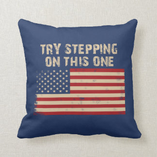 Try stepping on this flag cushion
