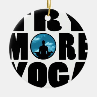 try yoga png ornament