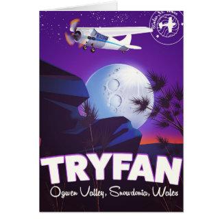 Tryfan,Ogwen Valley, Snowdonia, Wales Card