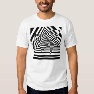 Trying Triangles Casino Illusion Tee Shirt