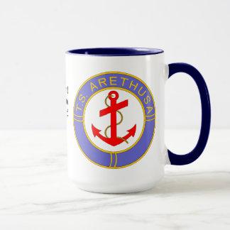 TS Arethusa Badge Mug