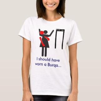 TSA Search Burqa T-Shirt