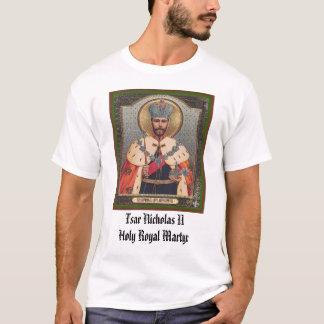 Tsar Nicholas II, Tsar Nicholas II Holy Royal Mart T-Shirt
