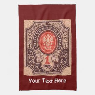 Tsarist Russia Postage Tea Towels