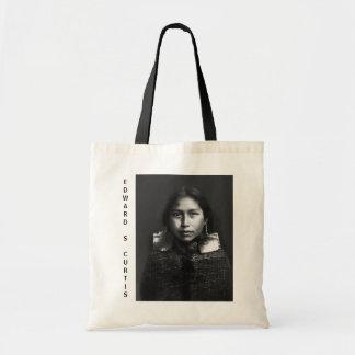 Tsawatenok girl, 1914 tote bag