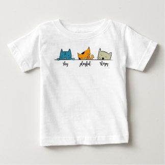 tshirt 3cats fun funny kitten cat lover