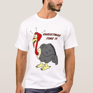 Tshirt: Christmas Turkey T-Shirt