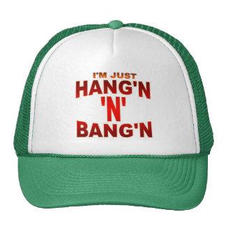 TSHIRT HANG-BANG TRUCKER HAT
