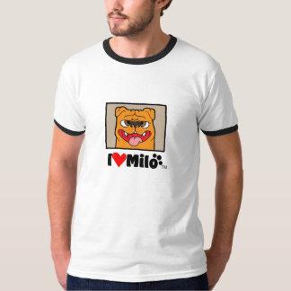 Tshirt I love milo2
