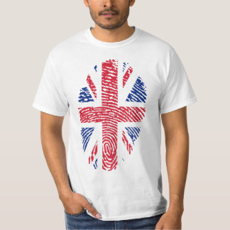 Tshirt United Kingdom flag