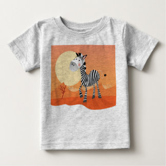 Tshirt with Africa cute animal