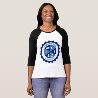 Tshirt with handles - Blue NormaDoc Logo