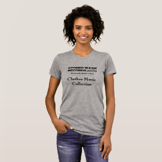 """Tshirt woman """"Stoned wash Records - Clothes Music"""