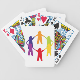 Tshirts edition with Family sign Bicycle Playing Cards
