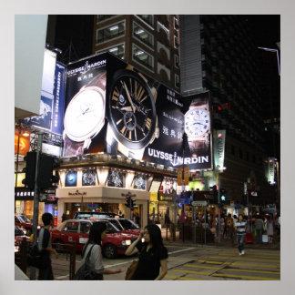 Tsim Sha Tsui, Hong Kong Poster