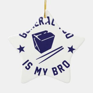 Tso is my Bro Ceramic Ornament