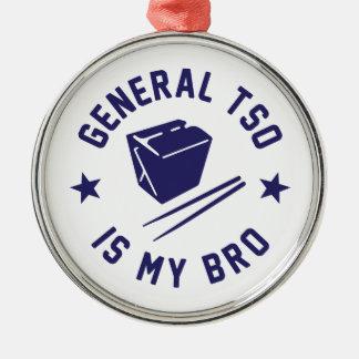 Tso is my Bro Metal Ornament