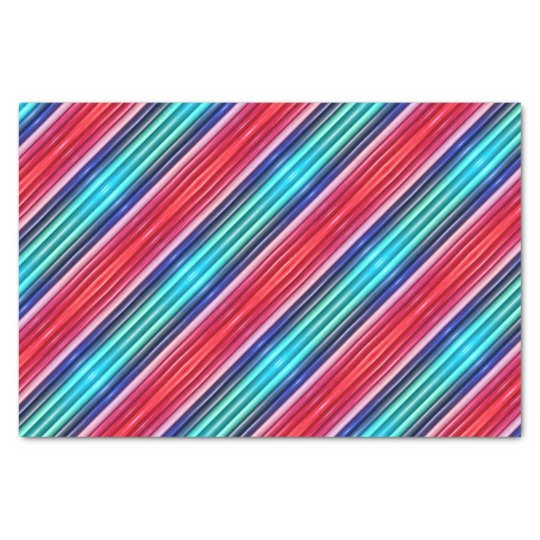 TSP - 0084 - Red and Blue Tissue Paper