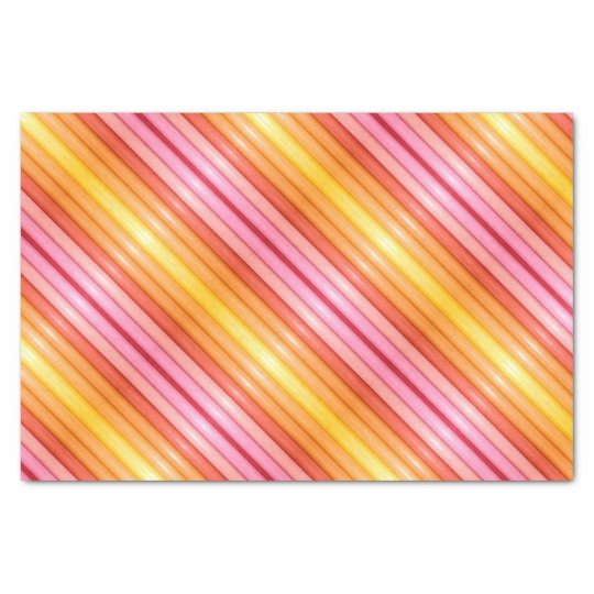 TSP - 0085 - Pink and Yellow - Tissue Paper