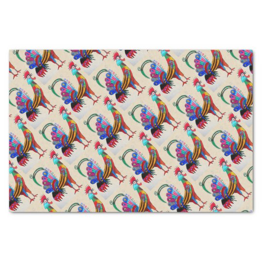 TSP - 0086 - Rooster - Tissue Paper