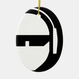 TSP Logo Ceramic Ornament