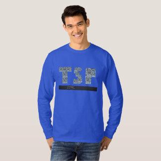 tsp zinc foil letters T-Shirt