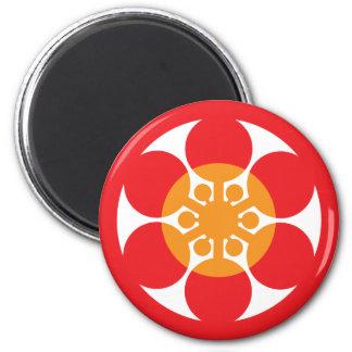 Tsubaki Japanese Restaurant 05 6 Cm Round Magnet