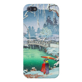 Tsuchiya Koitsu Sketches of Famous Places In Japan iPhone 5 Covers