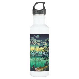 Tsuchiya Koitsu Ueno Shinobazu Pond art 710 Ml Water Bottle