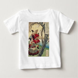 Tsukioka Yoshitoshi - Yoshitsune and Benkei Baby T-Shirt