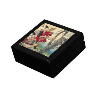 Tsukioka Yoshitoshi - Yoshitsune and Benkei Gift Box