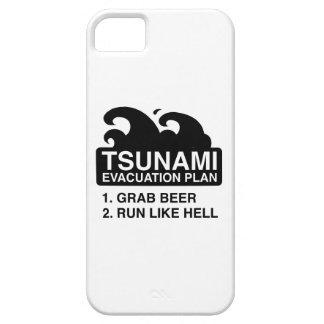 Tsunami Evacuation Plan iPhone 5 Case