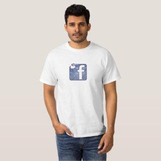 tsunami facebook t-shirt
