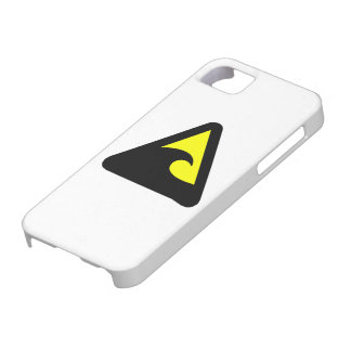 Tsunami Hazard Sign iPhone 5 Case
